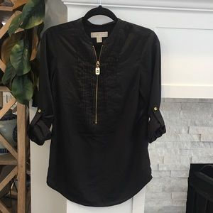 Michael Kors Black top Size Small